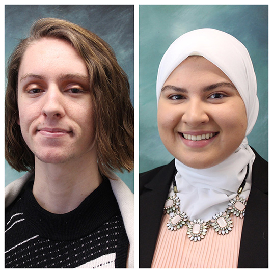 Michigan State University nominates two students for national research posts